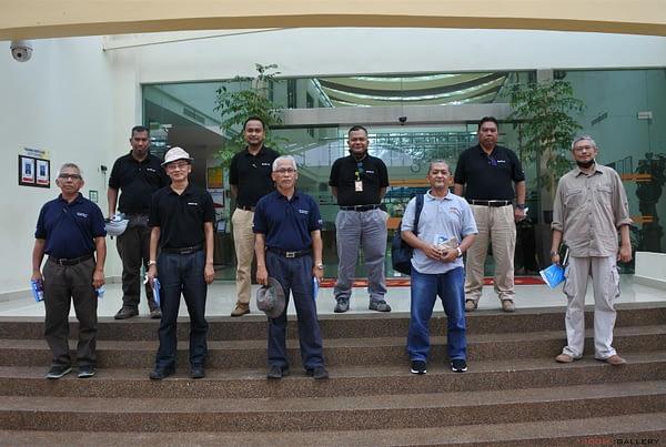 Visits of Head of Division R&D Hj. Suhaidi Hamzah – 4 November 2020