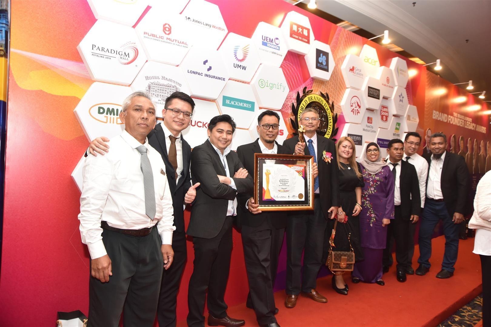 Brand Laureate Award – 27 June 2019